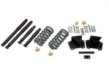 "1997-2004 Dodge Dakota R/T 1/2"" Lowering Kit w/ Nitro Drop 2 Shocks - Belltech 803ND"