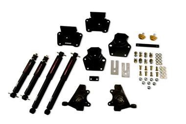 "1987-1990 Dodge Dakota (Std Cab) 2/4"" Lowering Kit w/ Nitro Drop 2 Shocks - Belltech 807ND"