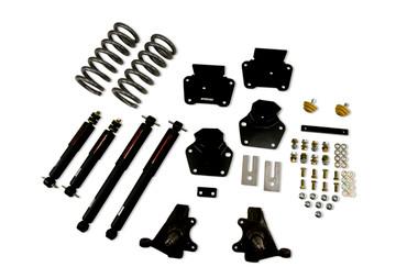 "1987-1990 Dodge Dakota 4"" F / 4"" R Lowering Kit w/ Nitro Drop 2 Shocks - Belltech 809ND"