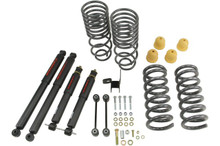 "2009-2018 Dodge Ram 1500 Regular Cab / Short Bed 2/4"" Lowering Kit w/ Nitro Drop 2 Kit - Belltech 964ND"