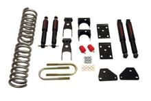 """2006-2008 Dodge Ram 1500 Standard / Quad Cab 2/5"""" Lowering Kit w/ Nitro Drop 2 Kit - Belltech 810ND"""