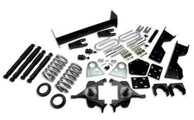 "1994-1999 Dodge Ram 1500 Standard Cab 5/7"" Lowering Kit w/ Nitro Drop 2 Shocks - Belltech 817ND"