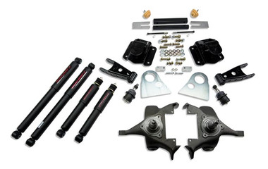 "1994-1999 Dodge Ram 1500 Extended Cab 2/4"" Lowering Kit w/ Nitro Drop 2 Shocks - Belltech 818ND"