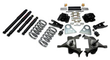 "1994-1999 Dodge Ram 1500 Extended Cab 3/4"" Lowering Kit w/ Nitro Drop 2 Shocks - Belltech 820ND"