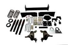 "1994-1999 Dodge Ram 1500 Extended Cab 4/6"" Lowering Kit w/ Nitro Drop 2 Shocks - Belltech 821ND"