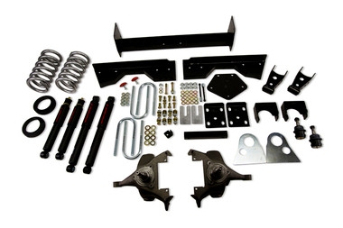 "1994-1999 Dodge Ram 1500 Extended Cab 5/6"" Lowering Kit w/ Nitro Drop 2 Shocks - Belltech 822ND"