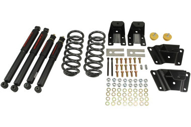 "1989-1997 Ford Ranger Std 2"" F / 4"" R Lowering Kit w/ Nitro Drop 2 Shocks - Belltech 902ND"