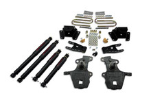 "1999-2004 Ford F150 Lightning (2WD) 2/3"" Lowering Kit w/ Nitro Drop 2 Shocks - Belltech 921ND"