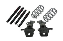 "1997-2002 Ford Expedition / Navigator 2WD 2/3"" Lowering Kit w/ Nitro Drop 2 Shocks - 932ND"
