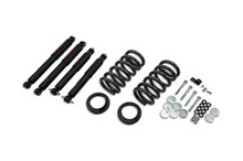 "1997-2002 Ford Expedition / Navigator (2WD w/ Rear Air Spring) 3/3"" Lowering Kit w/ Nitro Drop 2 Shocks - 941ND"