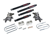 "1998-2000 Nissan Frontier 2"" F / 3"" R Lowering Kit w/ Nitro Drop 2 shocks - Belltech 439ND"