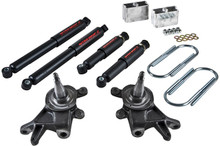 "1984-1997 Nissan Pickup & Hardbody 2"" F / 3"" R Lowering Kit w/ Nitro Drop 2 Shocks - Belltech 440ND"