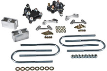 """2004-2012 Chevy Colorado 2/2"""" 2wd/4wd Lowering Kit - Belltech 611"""