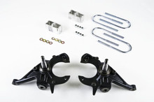 "1999-2004 Chevy S10 Extreme 2/2"" 2wd Lowering Kit - Belltech 613"
