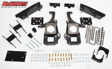2007-2014 2WD Toyota Tundra (all cabs) 2/4 Deluxe Drop Kit - McGaughys 98004