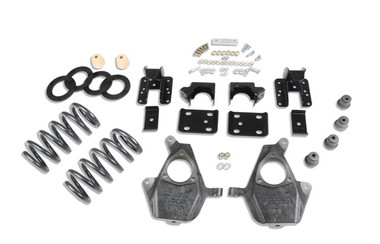 "2014-2016.5 Chevy Silverado 1500 2WD (Ext Cab) 3/5"" Lowering Kit - Belltech 996"