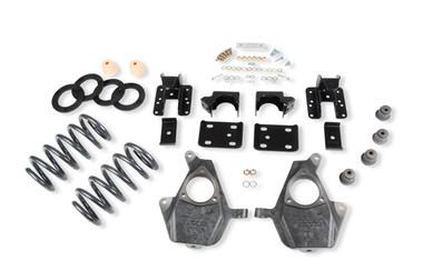 "2007-2013 Chevy Silverado 1500 2WD (Std Cab) 4/6"" Lowering Kit - Belltech 643"