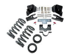 "2001-2006 Chevy Silverado 1500 2WD (Ext Cab) 3/3"" Lowering Kit - Belltech 950"