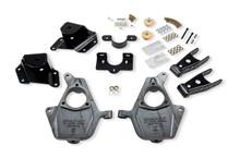 "1999-2000 Chevy Silverado 1500 2WD (Ext Cab) 2/4"" Lowering Kit - Belltech 660"