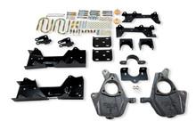 "1999-2000 Chevy Silverado 1500 2WD (Ext Cab) 4/6"" Lowering Kit - Belltech 680"