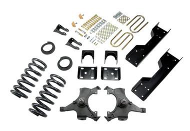 "1992-1998 Chevy C1500 2WD (Std Cab) 4/6"" Lowering Kit - Belltech 688"