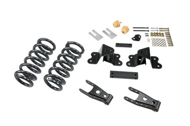 "1988-1998 GMC Sierra C1500 2WD (Ext Cab) 2-3/4"" Lowering Kit - Belltech 691"