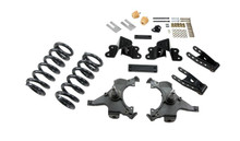 """1988-1998 Chevy C1500 2WD (Ext Cab) 3/4"""" Lowering Kit - Belltech 692"""