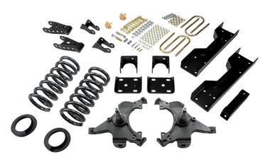 "1988-1998 Chevy C1500 2WD (Ext Cab) 5/7"" Lowering Kit - Belltech 694"