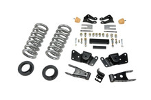 "1997-2000 Chevy C2500 / C3500 2WD 2/4"" Lowering Kit - Belltech 715"