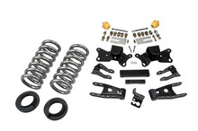 "1997-2000 Chevy C2500 2WD (Exteed / Crew Cab) 2/4"" Lowering Kit - Belltech 718"