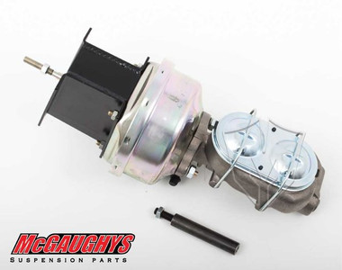 "McGaughys GMC C-10 1967-1972 7"" Brake Booster With Master Cylinder & Bracket; Front Disc Brakes - Part# 63179"