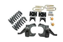 "1973-1987 Chevy Blazer 2wd (w/ 1"" Rotors) 4/6"" Lowering Kit - Belltech 956"