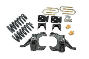 "1973-1987 Chevy Blazer 2wd (w/ 1-1/4"" Rotors) 4/6"" Lowering Kit - Belltech 953"