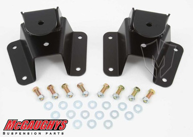 "1973-1987 Chevy & GMC C-10 Rear 2"" Drop Hangers - McGaughys 33155"