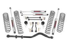 "2020 Jeep Gladiator 4WD 3.5"" Lift Kit w/ N3 Shocks - Rough Country 64930"