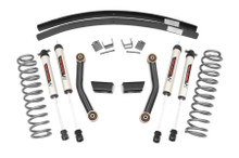 "1984-2001 Jeep Cherokee XJ 2WD/4WD 3"" Stage II Lift Kit - Rough Country 670X70"