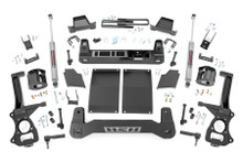 """2019-2020 Chevy Silverado 1500 Diesel 2WD/4WD 6"""" Lift Kit - Rough Country 21731D"""