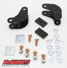 2001-2019 Chevy/GMC & Cadillac Rear Shock Extenders - McGaughys 33070 (Installed)