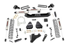"""2017-2019 Ford F-350 Super Duty 4WD 4.5"""" Lift Kit w/ V2 Shocks - Rough Country 55970"""