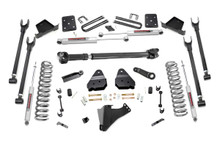 """2017-2019 Ford F-250 Super Duty 4WD 6"""" 4-Link Lift Kit - Rough Country 56021"""