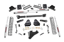 """2017-2019 Ford F-250 Super Duty 4WD 4.5"""" Lift Kit - Rough Country 55021"""