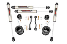 "2020 Jeep Gladiator JT 4WD 2.5"" Lift Kit w/ V2 Shocks - Rough Country 63470"