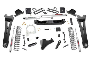 """2017-2019 Ford F-250 Super Duty 4WD 6"""" Lift Kit w/ Radius Arms - Rough Country 55630"""