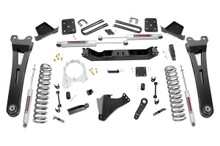 """2017-2019 Ford F-250 Super Duty 4WD 6"""" Lift Kit w/ Radius Arms - Rough Country 55430"""