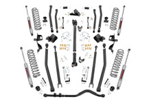 """2018-2020 Jeep Wrangler JL Unlimited 4WD 6"""" Lift Kit w/ N3 Shocks - Rough Country 66030"""