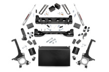 """2016-2020 Toyota Tundra 2WD/4WD 4"""" Lift Kit w/ N3 Shocks - Rough Country 75130"""