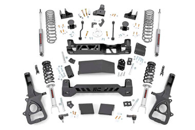 "2019-2020 Dodge Ram 1500 4WD 6"" Lift Kit w/ N3 Shocks - Rough Country 33431"