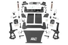 "2019-2020 Chevy Silverado 1500 4WD 4"" Lift Kit w/ V2 Shocks - Rough Country 27570"