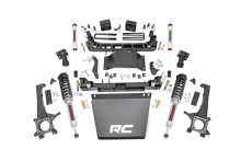 "2016-2020 Toyota Tacoma 2WD/4WD 6"" Lift Kit w/ N3 Struts & V2 shocks - Rough Country 75871"
