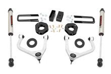 "2019-2020 Chevy Silverado 1500 2WD/4WD 3.5"" Lift Kit w/ Forged Upper Control Arms - Rough Country 29570"
